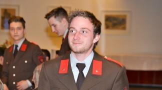 Beförderung zum OFM: Florian Pfurtscheller