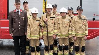 Jugendfeuerwehr der FF Hötting