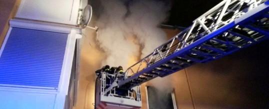 Küchenvollbrand
