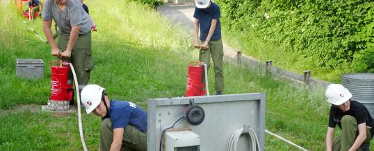 """Vorbereitung für den """"1. Feuerwehrjugend-Leistungsbewerb der Alpenregionen"""" vom 28.06. – 30.06.2019 in Telfs"""