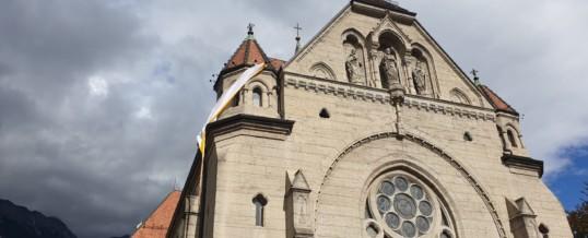 Sturmschaden Pfarrkirche Hötting