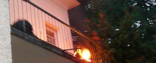 Übung – Wohnungsvollbrand Ingenuin Fischler – Straße 10