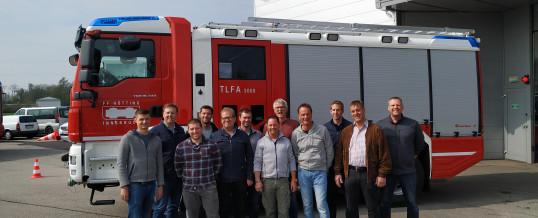 Neues TLFA 3000 für die FF Hötting