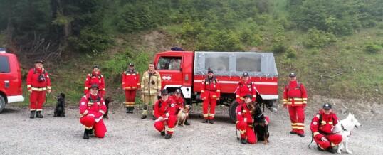 Unterstützung Österr. Rettungshundebrigade
