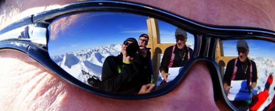 Skitourenwochenende des Lawinenzugs in der Silvretta